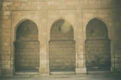 老大厦看法在开罗城堡的在埃及 免版税库存照片