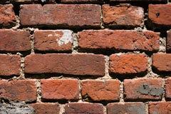 老大厦破旧的被风化的难看的东西红砖墙壁  库存图片