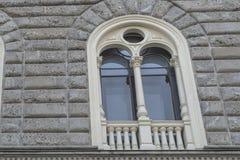 老大厦细节,米兰 库存照片