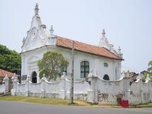 老大厦荷兰人在加勒改革了教会 斯里南卡 库存图片