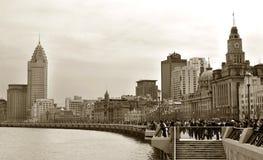老大厦 免版税图库摄影