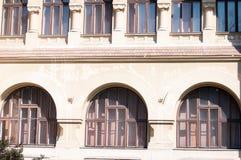 老大厦arhitecture 免版税图库摄影