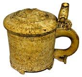 老大啤酒杯 免版税库存照片