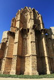 老大教堂在法马古斯塔,北赛普勒斯土耳其共和国 图库摄影