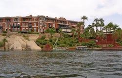 老大瀑布旅馆 库存照片