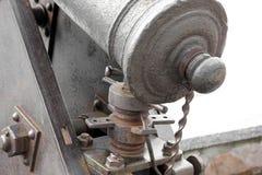 老大炮在公园 免版税库存照片
