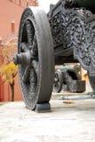 老大炮在莫斯科克里姆林宫 彩色照片 图库摄影