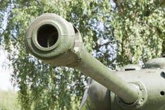 老大炮桶 免版税库存照片