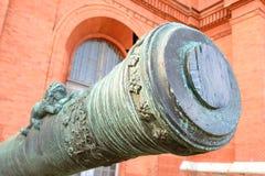 老大炮的桶 图库摄影