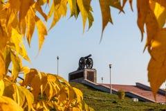 老大炮纪念碑 免版税库存图片