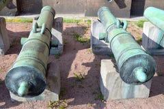 老大炮, StPetersburg 免版税图库摄影