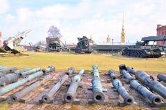 老大炮, StPetersburg 免版税库存照片