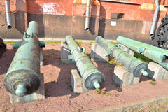老大炮, StPetersburg 免版税库存图片