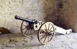 老大炮-中世纪军队强有力的武器  库存照片