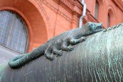 老大炮Skoropeya的桶 免版税图库摄影