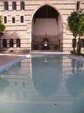老大马士革房子 库存图片