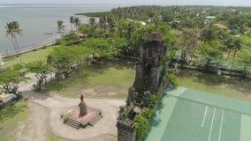 老天主教教会 巴塞罗那,索索贡省,菲律宾 股票视频