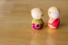 老夫妇日本 免版税库存图片