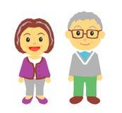老夫妇 免版税库存图片