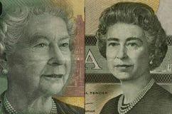 老女王/王后年轻人 免版税库存图片