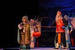 """老妇人在命令北京Opera""""杨Family†的妇女一般 库存图片"""