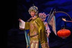 """老妇人法警北京Opera""""杨Family†的妇女将军 免版税图库摄影"""