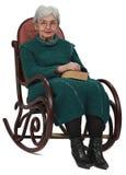 老妇人 图库摄影