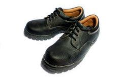 老安全靴 免版税库存图片