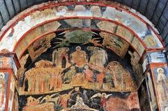 老宗教绘画在克里姆林宫 免版税库存图片