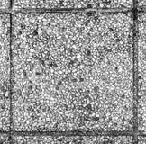 老室外路面平板或具体石板材 免版税库存照片