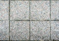 老室外路面平板或具体石板材 库存图片