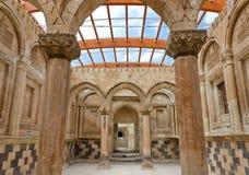 老宫殿内部 库存照片