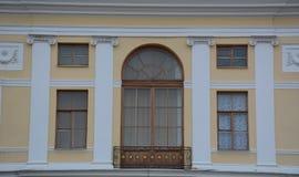 老宫殿在圣彼得堡,俄罗斯 库存照片