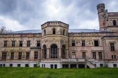 老宫殿在波兰 库存照片