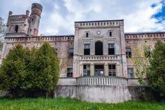 老宫殿在波兰 库存图片