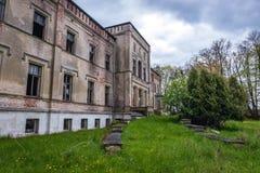 老宫殿在波兰 免版税图库摄影
