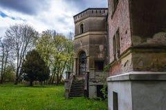 老宫殿在波兰 免版税库存图片