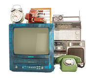 老家庭项目 免版税库存图片