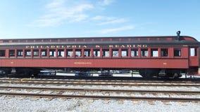 老宾夕法尼亚火车 免版税库存图片