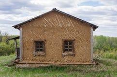 老小屋房子 免版税库存图片