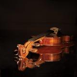 老小提琴 免版税库存图片