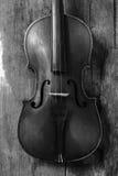 老小提琴在车间 免版税库存图片