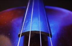 老小提琴脖子细节 免版税图库摄影