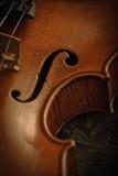 老小提琴 库存照片