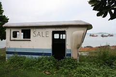 老小船和新的小船 免版税库存图片