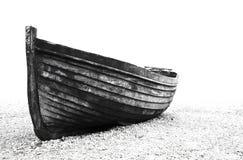 老小船渔夫 免版税图库摄影