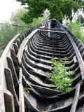 老小船说明看见 免版税库存照片