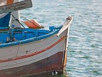 老小船细节 免版税库存照片