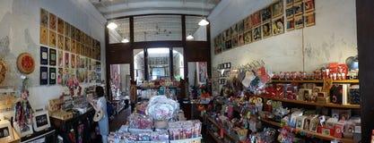 老小装饰品商店槟榔岛 库存照片