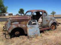老小轿车 库存照片
